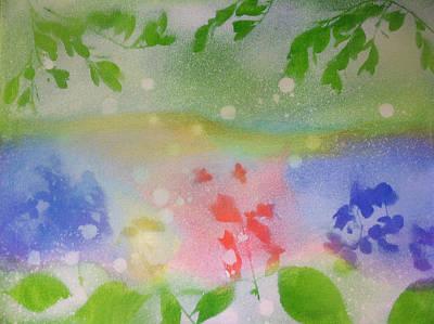 Spring Dance Art Print by Michelle Hoshino