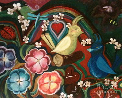 Spring Art Print by Denise Tomasura