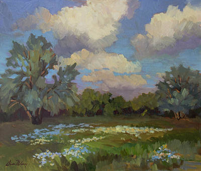 Painting - Spring by Diane McClary