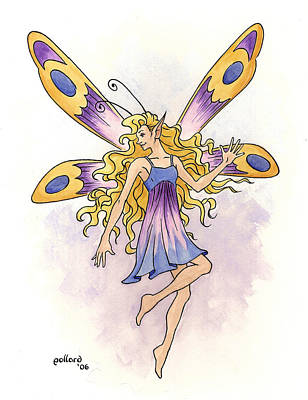 Painting - Spring Fairy by Glenn Pollard