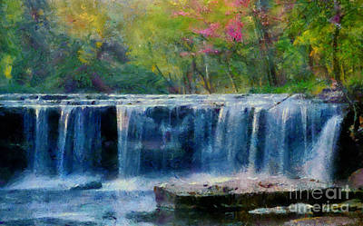 Photograph - Spring Falls by Scott B Bennett