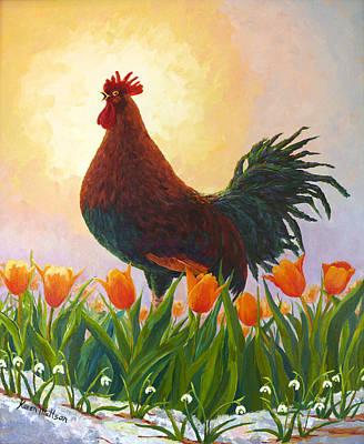 Wall Art - Painting - Spring Fever by Karen Mattson