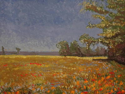 Painting - Spring Field by Paul Benson