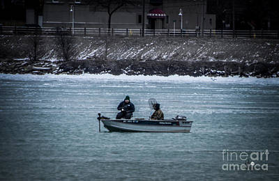 Photograph - Spring Fishing On The St Clair River by Ronald Grogan