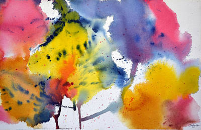 Art Print featuring the painting Spring Fling by Joan Hartenstein