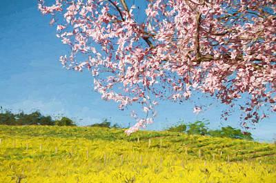 Spring Fling Art Print by John K Woodruff