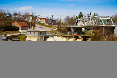 Floods Photograph - Spring Flood At Hydro Falls On Muskoka by Panoramic Images