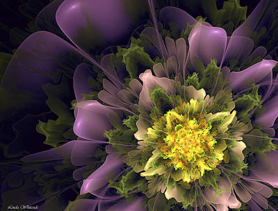 Digital Art - Spring Floral by Linda Whiteside