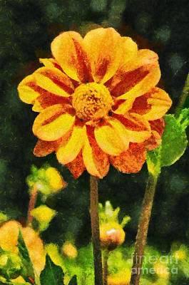 Springtime Painting - Spring Flower by George Atsametakis