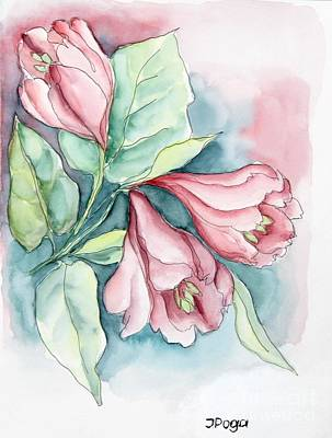 Painting - Spring Flower by Inese Poga