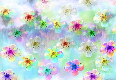 Photograph - Spring Flowers Abstract 2 by Debbie Portwood