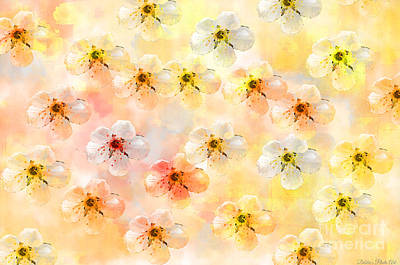 Photograph - Spring Flowers Abstract 3 by Debbie Portwood