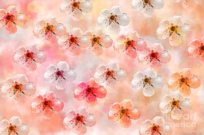 Photograph - Spring Flowers Abstract 5 by Debbie Portwood