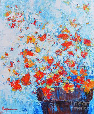 Interior Still Life Painting - Spring Flowers Iv by Patricia Awapara
