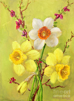 Spring Flowers Art Print by Randol Burns