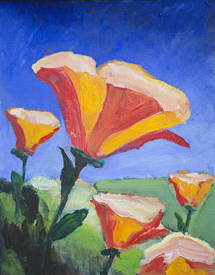 Painting - Spring Flowers by Richard Fritz