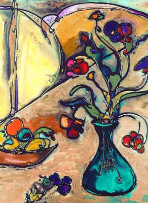 Spring Flowers Art Print by Twyla Gettert