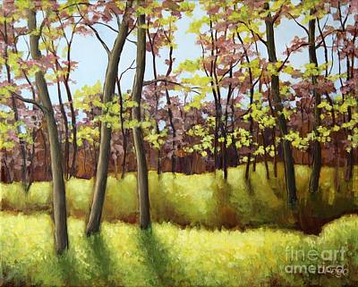 Painting - Spring Forest by Inese Poga