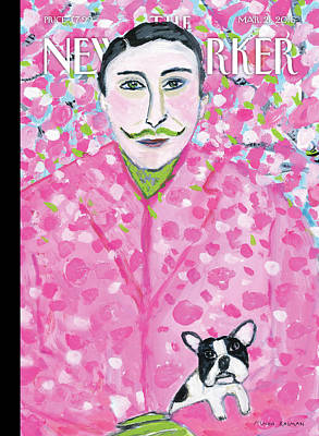 French Bulldog Painting - Spring Forward by Maira Kalman