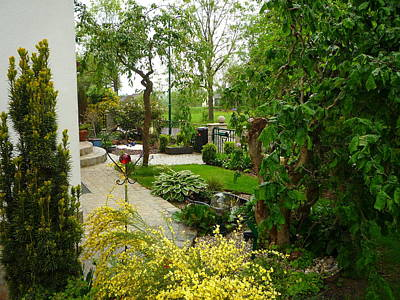 Photograph - Spring Garden by Art Ilse  Schill