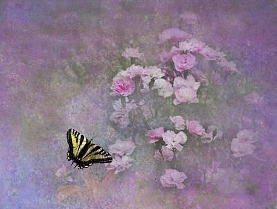 Spring Garden Art Print by Diane Schuster