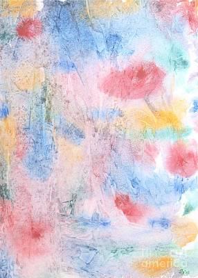 Spring Garden Art Print by Susan  Dimitrakopoulos