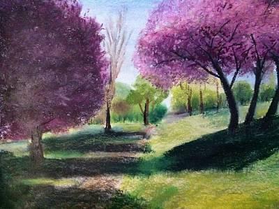 Painting - Spring  by Giti Ala