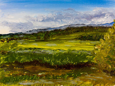 Painting - Spring Green by Lee Stockwell