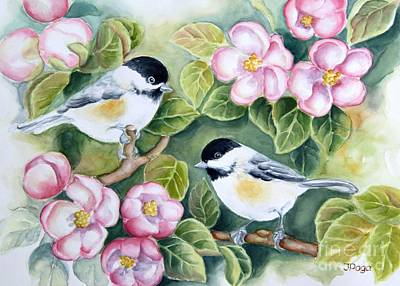 Painting - Spring Greetings by Inese Poga