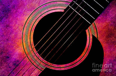 Guitars Photograph - Spring Guitar by Andee Design