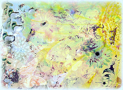 Mixed Media - Spring Happiness by YoMamaBird Rhonda