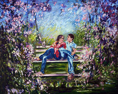Realistic Painting - Spring by Harsh Malik