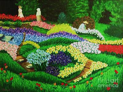 Longwood Gardens Painting - Spring Has Sprung by Christine Schwander