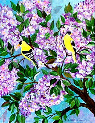 Painting - Spring Has Sprung by Fram Cama