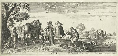 Equestrian Clothes Drawing - Spring, Herman Breckerveld, Broer Jansz Den Haag by Herman Breckerveld And Broer Jansz
