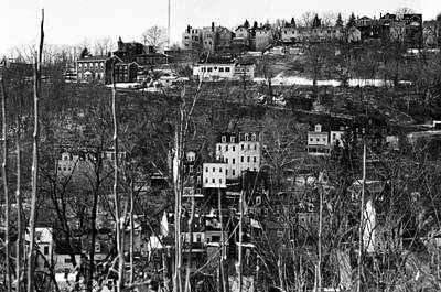 Spring Hill From Troy Hill In Pittsburgh Art Print by Eric Miller