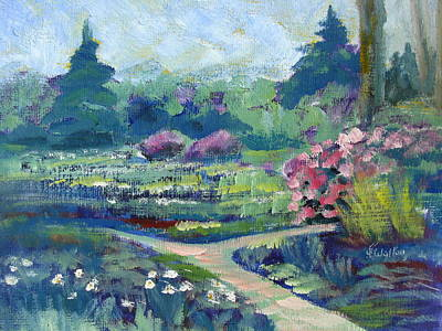 Painting - Spring Impressions by Judy Fischer Walton