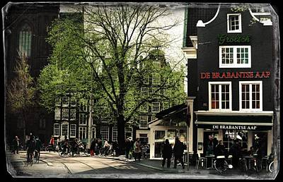 Photograph - Spring In Amsterdam. Vintage Amsterdam. Old Cards by Jenny Rainbow