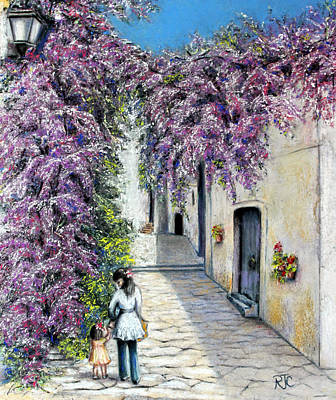 Spring In Andalucia Art Print by Rosemary Colyer