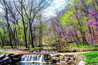Spring In Dogwood Canyon Art Print