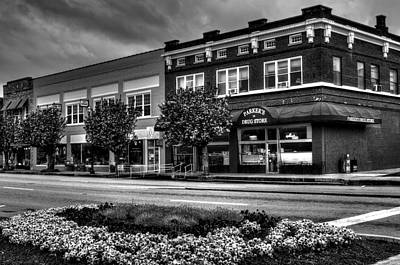 Photograph - Spring In Murphy North Carolina In Black And White by Greg Mimbs
