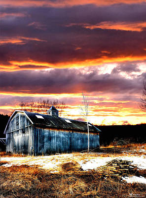Spring In New England Art Print by Fred LaPoint