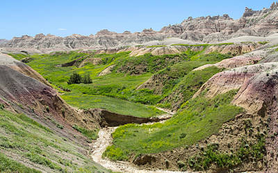 Photograph - Spring In The Badlands by John M Bailey