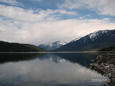 Photograph - Spring In The Kootenays by Leone Lund