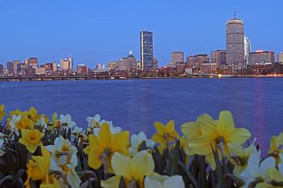 Charles River Photograph - Spring Into Boston by Juergen Roth