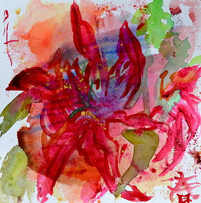 Spring Is A Messy Business Art Print by Beverley Harper Tinsley
