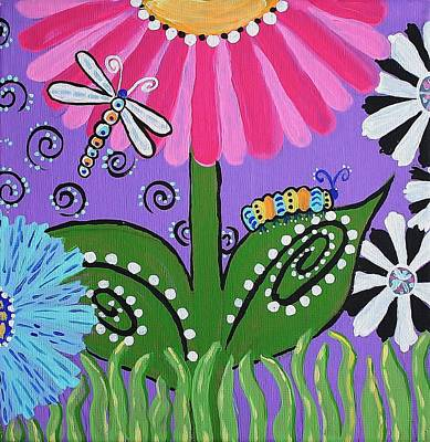 Painting - Spring Joy 1 by Kelly Nicodemus-Miller