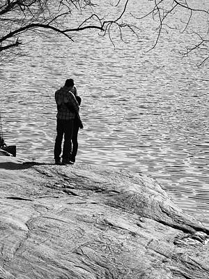 Photograph - Spring Love At The Lake by Cornelis Verwaal