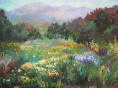 Painting - Spring Meadow by Sharon Franke