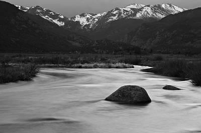 Photograph - Spring Melt by Scott Rackers